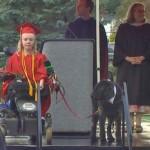Kayla Wheeler and Service Dog