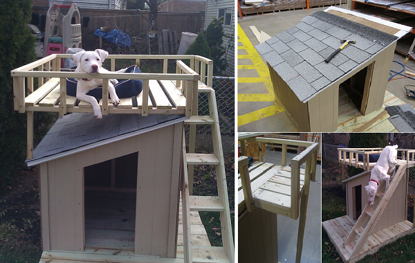 15 Free Dog House Plans Puppy Leaks