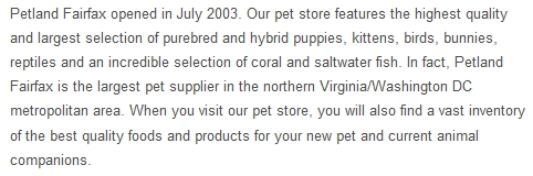 pet store lies