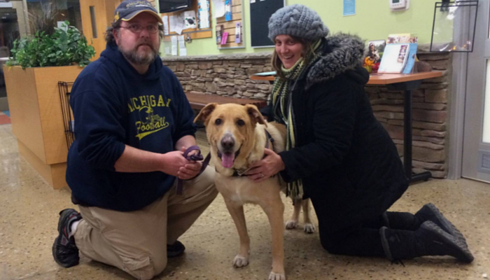 butch has been adopted
