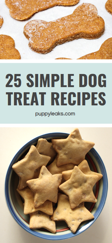 Simple Dog Treat Recipes
