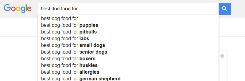 Why I Don't Blog About Dog Food