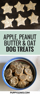 Apple & Peanut Butter Dog Treats
