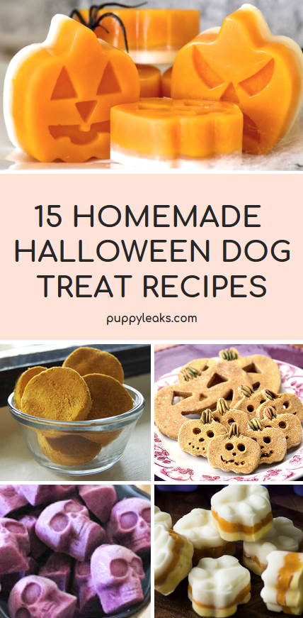 Halloween Dog Treat Recipes